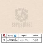 Serbaplast-Colori-serramenti-PVC-Crema-Avorio
