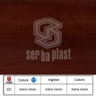 Serbaplast-Colori-serramenti-PVC-Siena-rosso