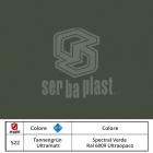 Serbaplast-Colori-serramenti-PVC-Spectral-Verde-Ral-6009-Ultraopaco