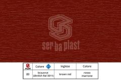 Serbaplast-Colori-serramenti-PVC-Rosso-Marrone