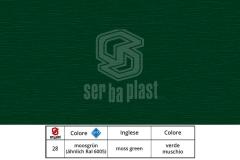 Serbaplast-Colori-serramenti-PVC-Verde-muschio