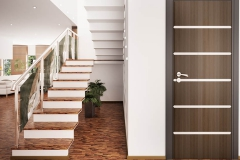Entrance hall interior 3d renderPortoncini-Serbaplast-serramenti-in-PVC-14
