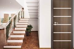 Entrance hall interior 3d renderPortoncini-Serbaplast-serramenti-in-PVC-14