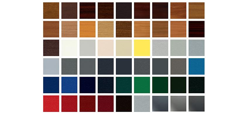 I Complementi dei serramenti | Colori